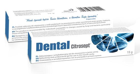 żel antybakteryjny do jamy ustnej