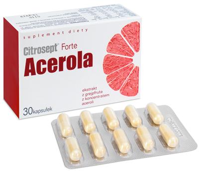 Citrosept Acerola 30 kapsułek