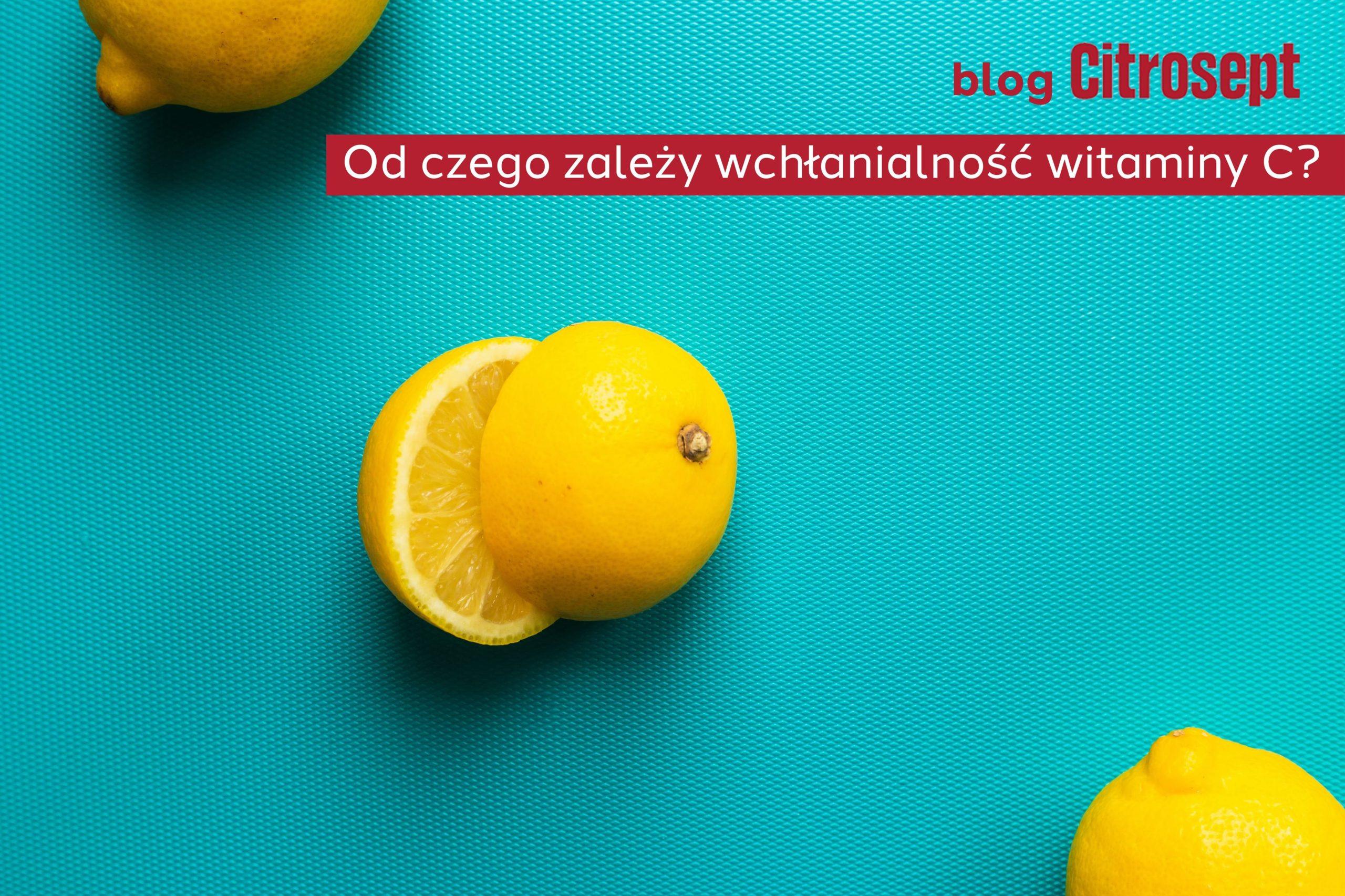 wchłanialność witaminy C
